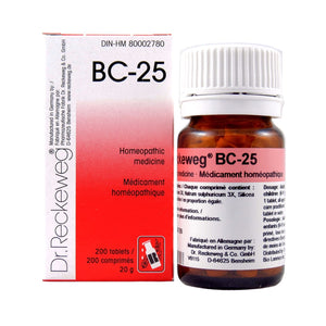 BC-25 Homeopathic medicine – Combination salt  200 tablets (20 g)