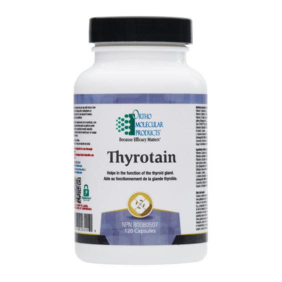 Thyrotain A comprehensive formula designed to support thyroid health 120 caps - iwellnessbox