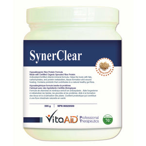 SynerClear® (Unflavored) Detox Protein Supplement with Complete Nutrient Profile 595 g