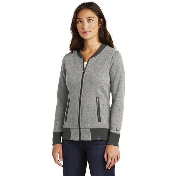 Ladies' New Era®  French Terry Baseball Full-Zip