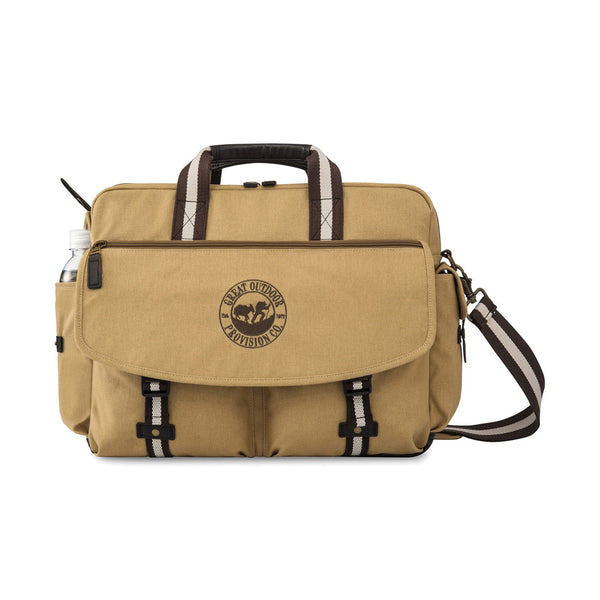 Heritage Supply™ Ridge Cotton Computer Messenger Bag