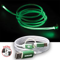 3-in-1 EL Lighted Charging Cable