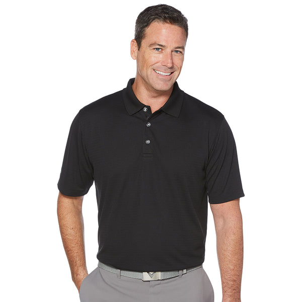 Men's Callaway Twill Textured Polo