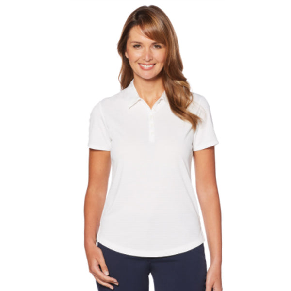 Ladies' Callaway Twill Textured Polo