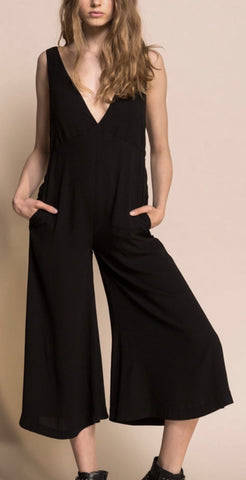 Elisa Black Jumpsuit