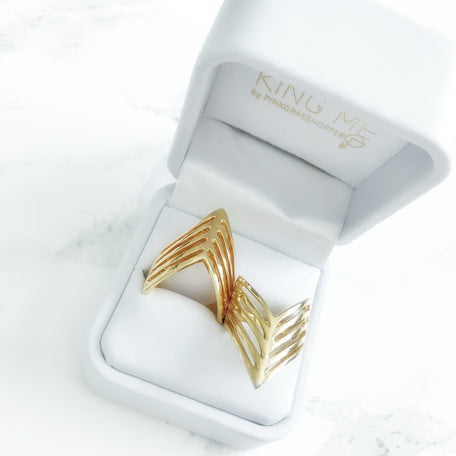 EGYPTIAN PYRAMIDS RING - KING ME Custom Jewelry by PG