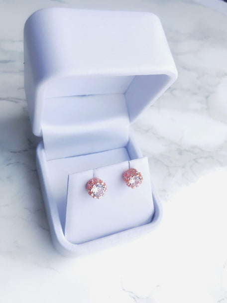 HEIRESS CROWN STUD EARRINGS - KING ME Custom Jewelry by PG