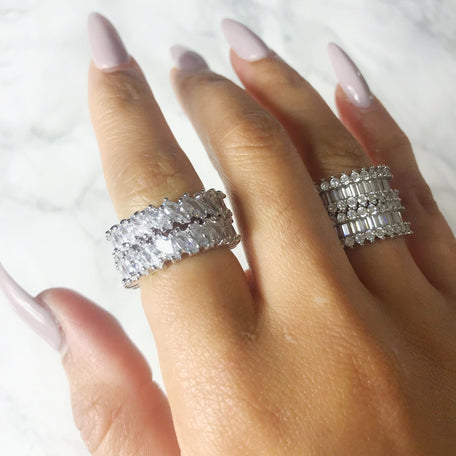KING KYLIE ETERNITY BAND SET - KING ME Custom Jewelry by PG