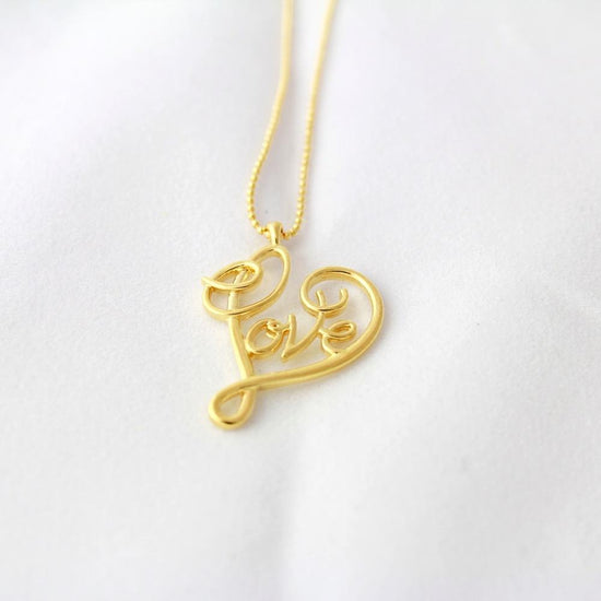 LOVE X INFINITY NECKLACE - KING ME Custom Jewelry by PG