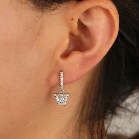 PHARAOH INITIAL EARRINGS - KING ME Custom Jewelry by PG