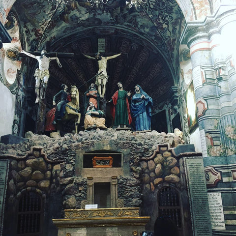 Sanctuary of Antotonilco_sistine chapel of Mexico_san miguel de allende_church_world heritage site_shrine