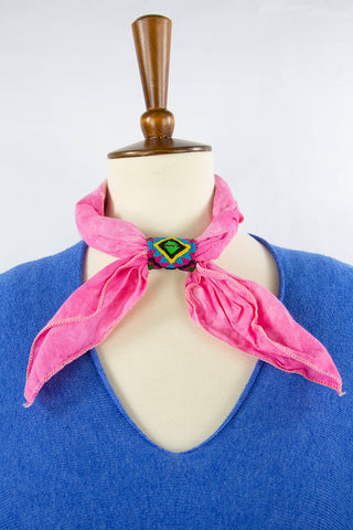 Bandana_slide_accessory_made-by-women_guatemala_handmade_multi-color_mannequin_pink_small