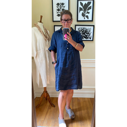 navy_blue_linen_shirt_dress_pullover_knee-length_machine-wash_one-size