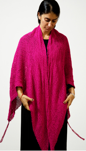 pink_wrap_handwoven_made by women_handmade_made in Mexico_san miguel_