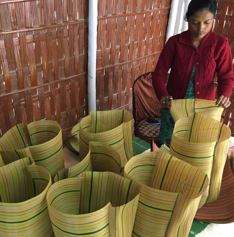 spencer devine_assam_india_market_bags_totes_totepacks_recycled_plastic_made by women_handwoven