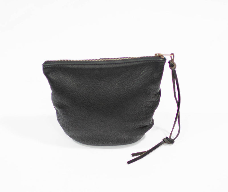 Spencer Devine Assam Leather Wristlet Bag