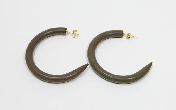 C-Hoop Earring Medium
