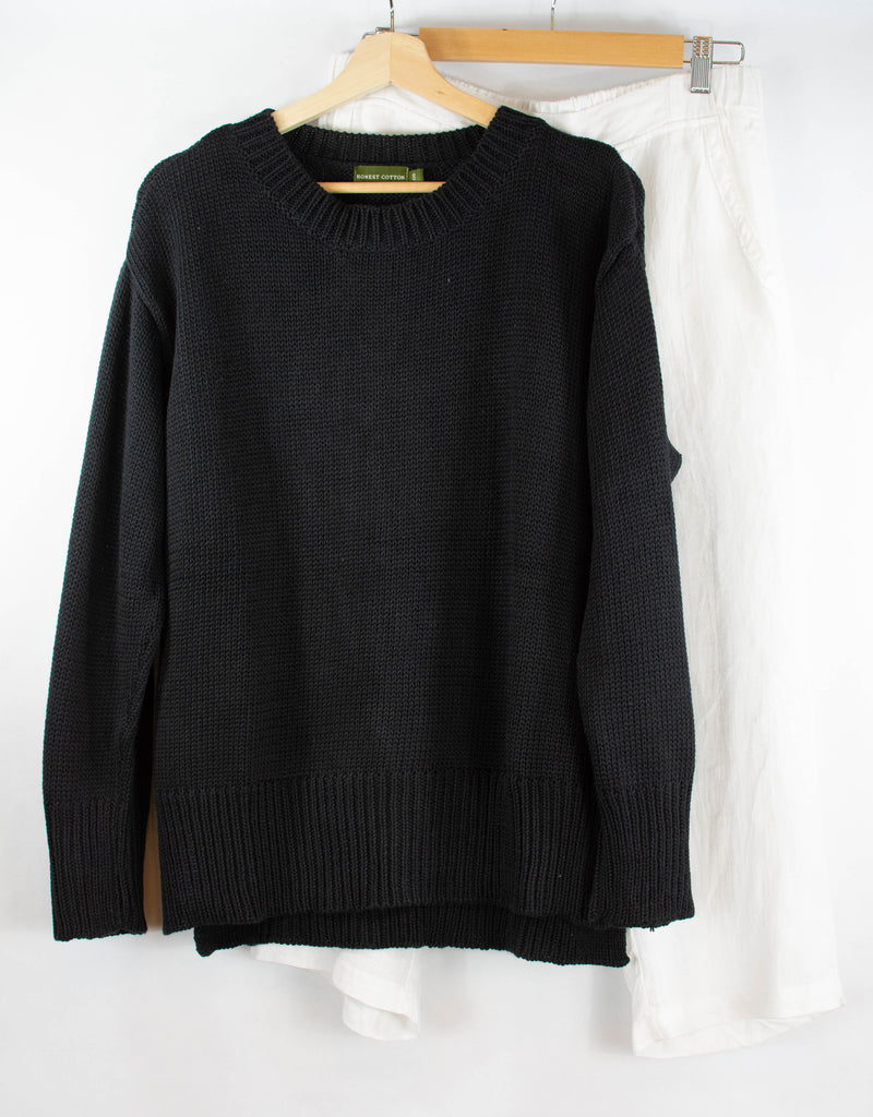 Handknit Crew Sweater
