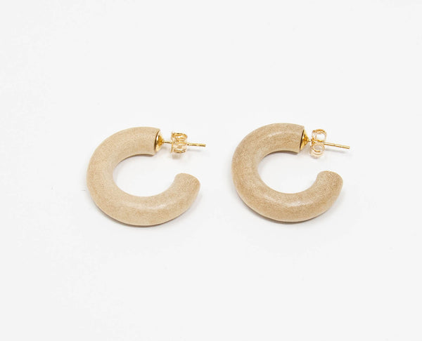 C-Hoop Earrings Mini