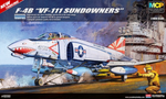 "ACADEMY 1/48 F-4B ""VF-111 SUNDOWNERS"" PHANTOM II MCP PLASTIC MODEL KIT(12232)"