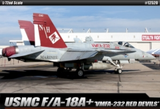 ACADEMY 1/72 USMC F/A 18A+ VMFA-232 RED DEVILS LE: PLASTIC MODEL KIT *AUS DECALS (12520)