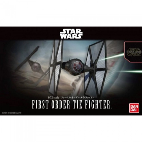 Bandai 1/72 Star Wars First Order Tie Fighter 0203218