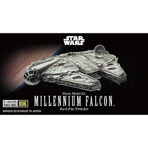 Bandai Star Wars Vehicle Model 006 Millennium Falcon 0210501
