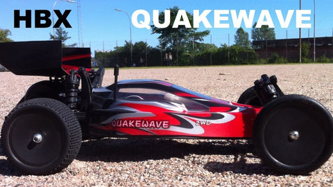 HBX QUAKEWAVE, 1/10 BUGGY, 2WD, BRUSHED