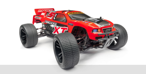 Maverick 1/10 Strada Red XT 4WD Electric Truggy MV12622