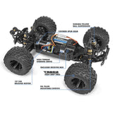 MAVERICK QUANTUM MT 1/10 4WD BRUSHED ELECTRIC MONSTER TRUCK (MV150101)
