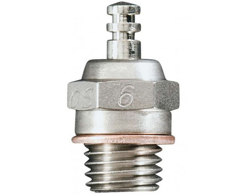 OS Engines 6 A3 Glow Plug, Hot Air, 15LA, 46AX