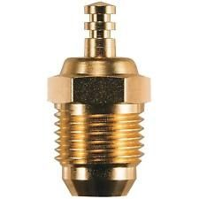 OS Engines Speed P4 Gold Glow Plug, Super Hot,