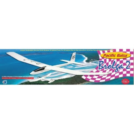 Aeroflight Pacific Balsa Brolga 2 Glider Kit