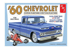 AMT 1960 Chevy Custom Fleetside Pickup with Go Kart (1063)