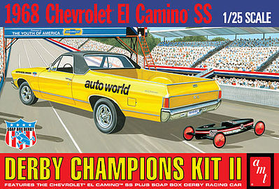 AMT 1968 El Camino with Soap Box Derby Car(1018)
