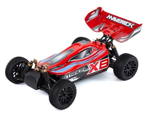 MAVERICK MV12621 STRADA RED XB 1/10 4WD BRUSHLESS ELECTRIC BUGGY