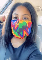 Reusable Ankara Face Mask