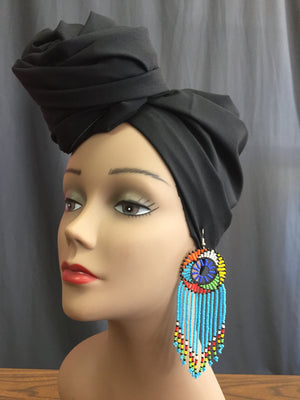 South African Fringe Earrings