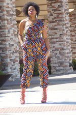 Ola Mud cloth Infinity Jumpsuit