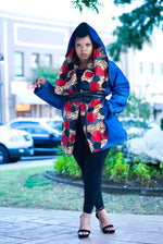 Leema Reversible Cape coat