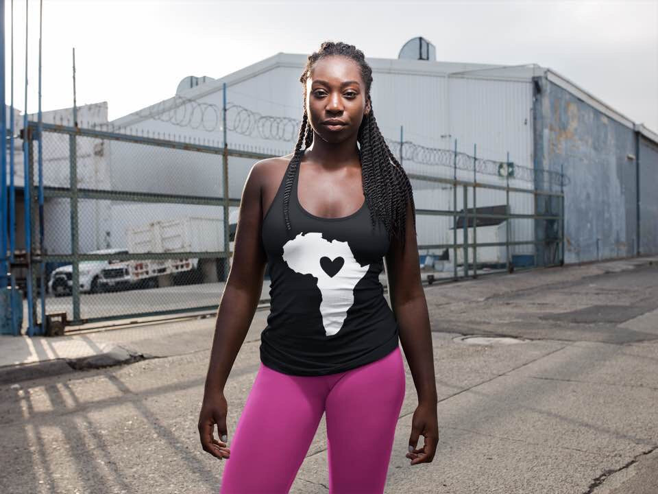 Heart In Africa Tank Top Shirt