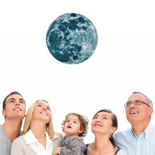 Load image into Gallery viewer, Moon Earth Wall Sticker for Kids Glow In The Dark Decal - boo.bootik