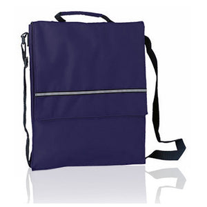 Document Holder with Flap and Shoulder Strap 148652