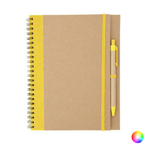 Spiral Notebook with Pen 143437