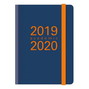 Agenda LETTS Memo 2019/20 Orange (Refurbished A+)