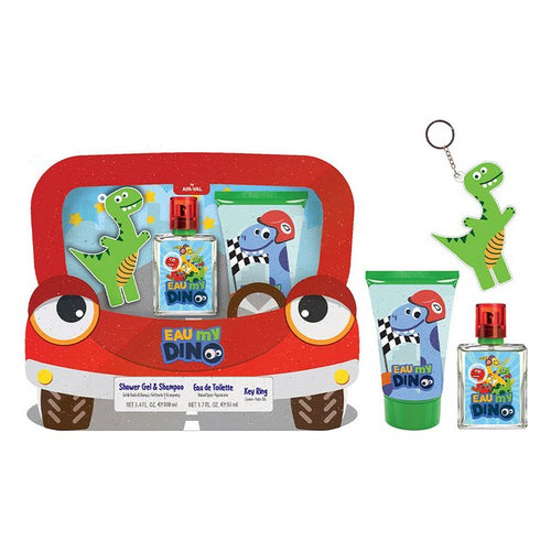 Child's Perfume Set My Dino Cartoon EDT (3 pcs)
