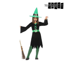 Load image into Gallery viewer, Costume for Children Witch Green (3 Pcs)