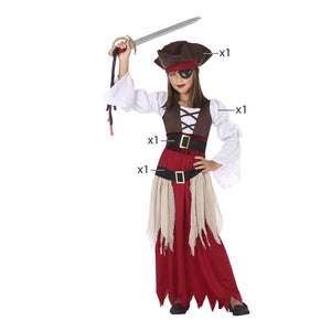 Costume for Children Pirate (4 Pcs)