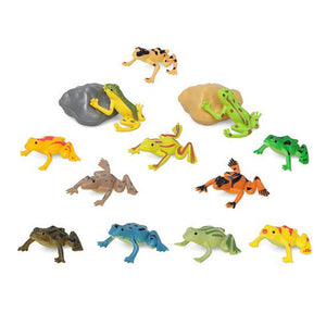 Set of Wild Animals 110197 Frog (14 Pcs)