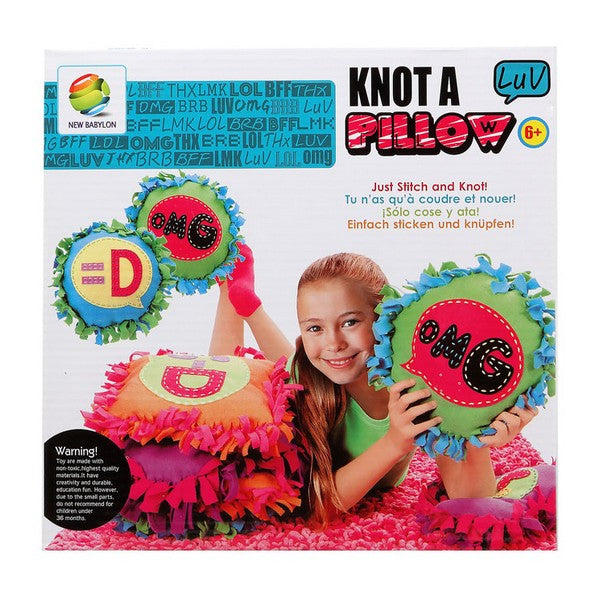 Craft Set Knot A Pillow 113111